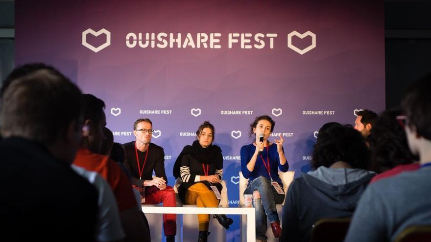 Presentación del OuishareFestBCN en París. FOTO: Stefano Borghi