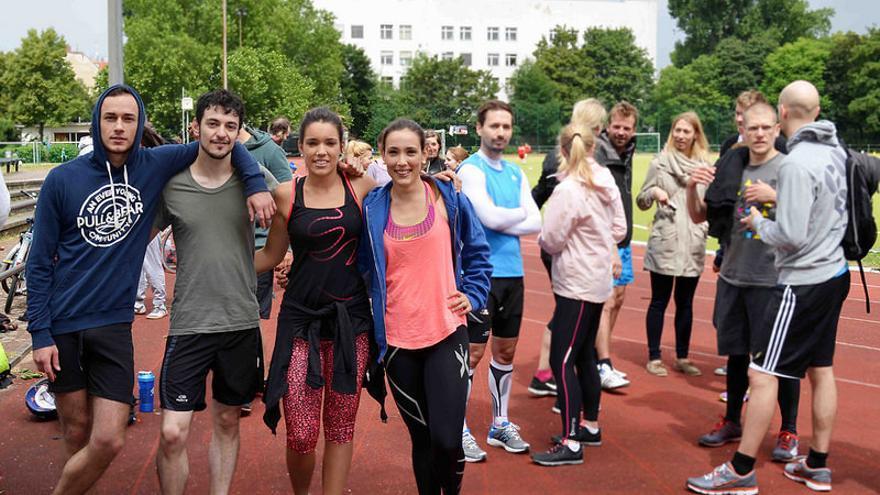 8Fit, es una aplicación de deporte que sugiere entrenamientos y recetas para quienes 'odian el fitness' (Foto: Pablo Villalba)