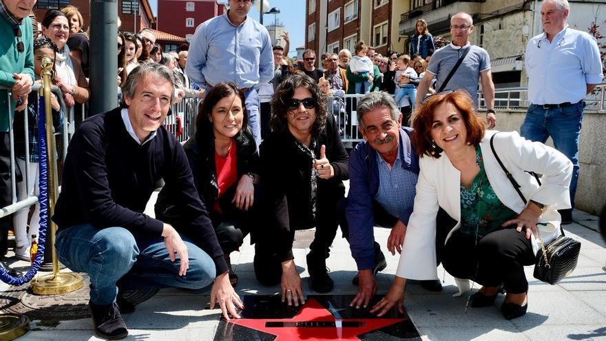 """Rulo 'conquista' su estrella de la fama en Santander: """"El aplauso de casa cuesta el doble, pero sabe el doble mejor"""""""