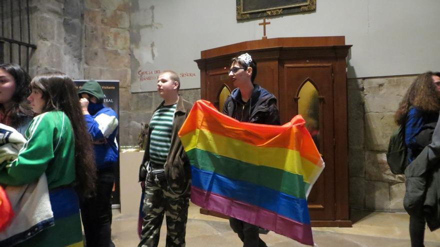 Manifestación en contra de la 'terapia para curar la homosexualidad'