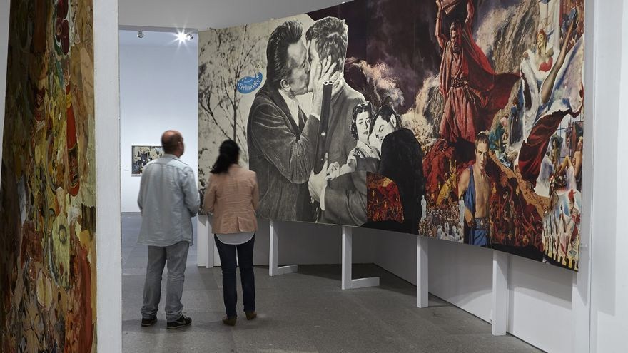 Instalación 'The funhouse' de Hamilton en el Museo Reina Sofía / Joaquín Cortes/Román Lores