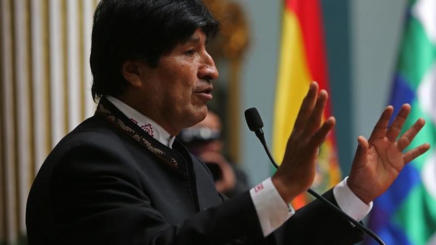 Morales dice que Chile amedrenta a quienes respaldan el reclamo marítimo boliviano