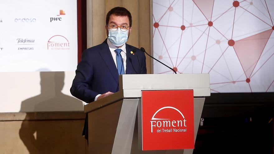 Aragonès firma el decreto de convocatoria de comicios para el 14F en Cataluña