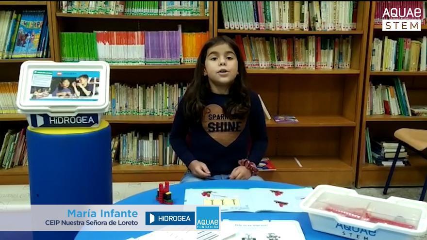 Hidrogea apoya las vocaciones científicas entre las niñas de la Región de Murcia