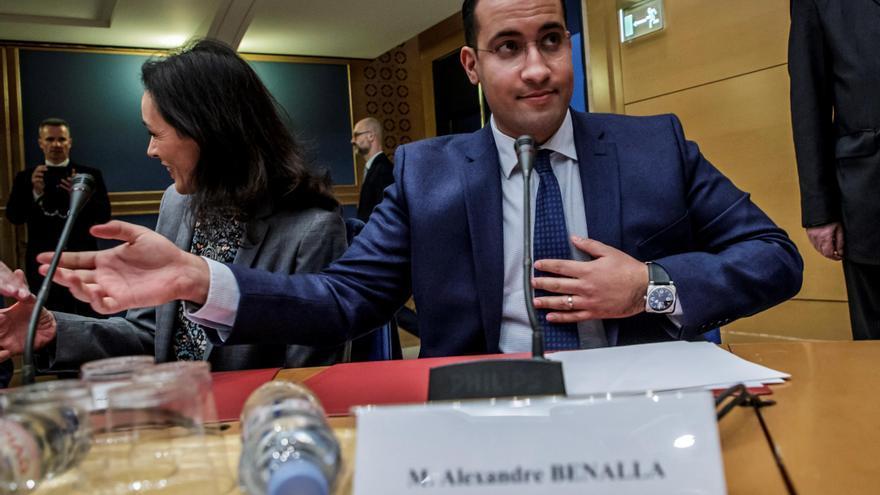 La Fiscalía pide 18 meses de prisión para el exjefe de seguridad de Macron