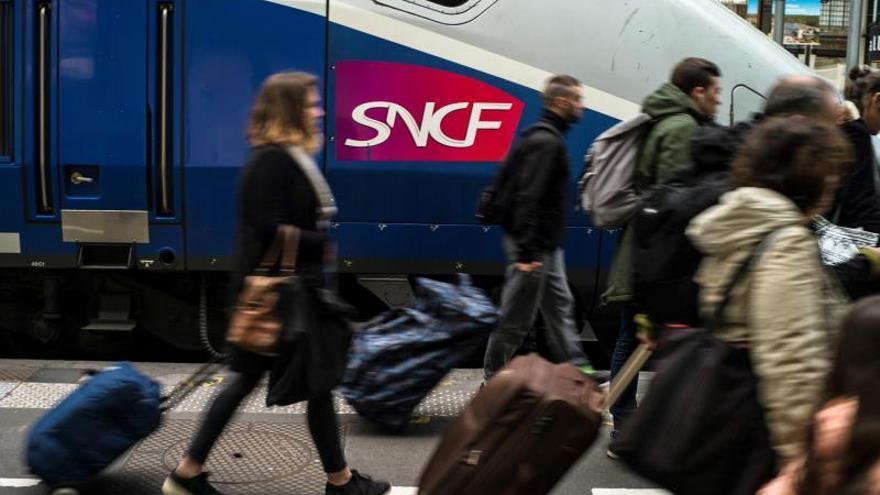 Un tercio de los trenes entre España y Francia anulados mañana por la huelga