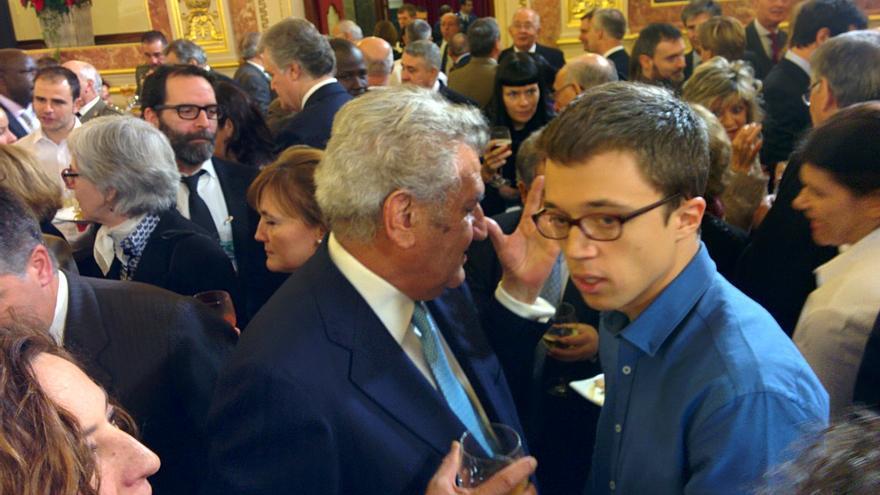 Iñigo Errejón, en la recepción oficial del Día de la Constitución en el Congreso