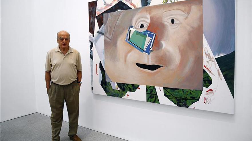 Gordillo expone en sus últimas obras un destilado de la energía de la vida