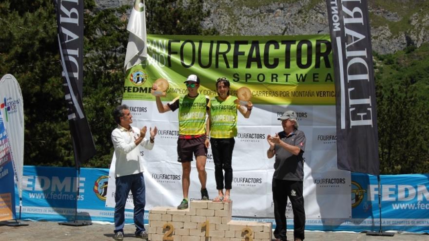 Ganadores del Campeonato de España de Carreras por Montaña Verticales FEDME - GP Four Factors.