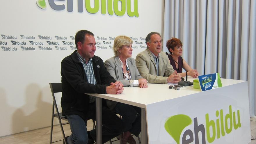 """Araiz afirma que la voluntad de EH Bildu es """"participar en el Gobierno, sin ninguna duda"""""""