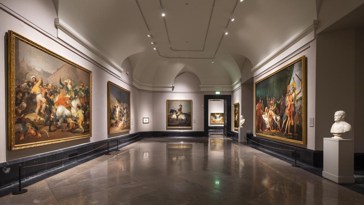 En torno a 1815: guerra, historia y alegoría. Salas 64 y 65 del Museo Nacional del Prado