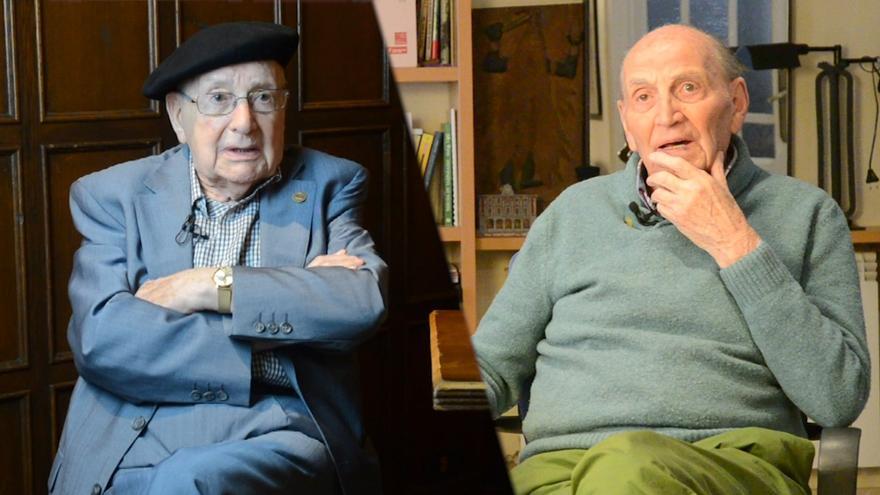 Luis Ortiz y Marcos Ana.