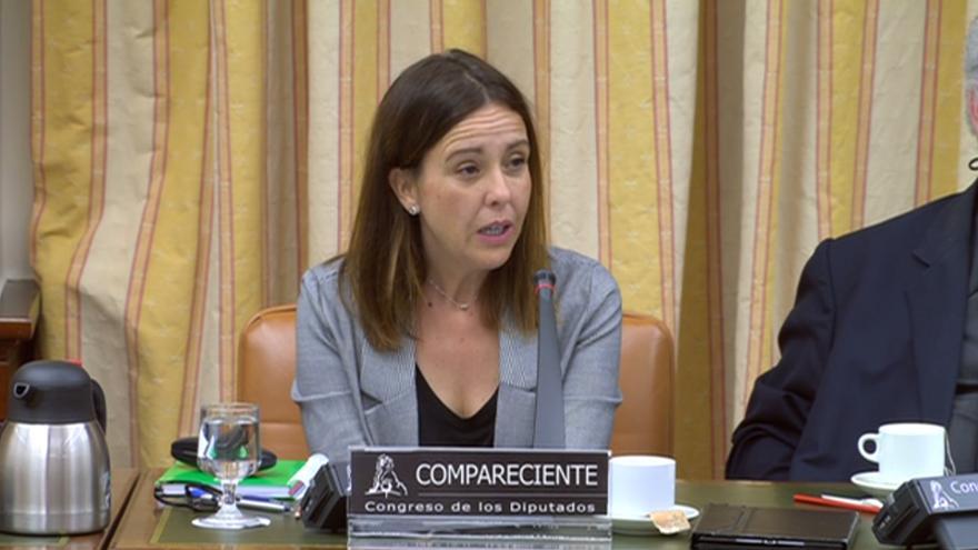 Alejandra Pérez Jiménez, técnica de Adif experta en el sistema ERTMS