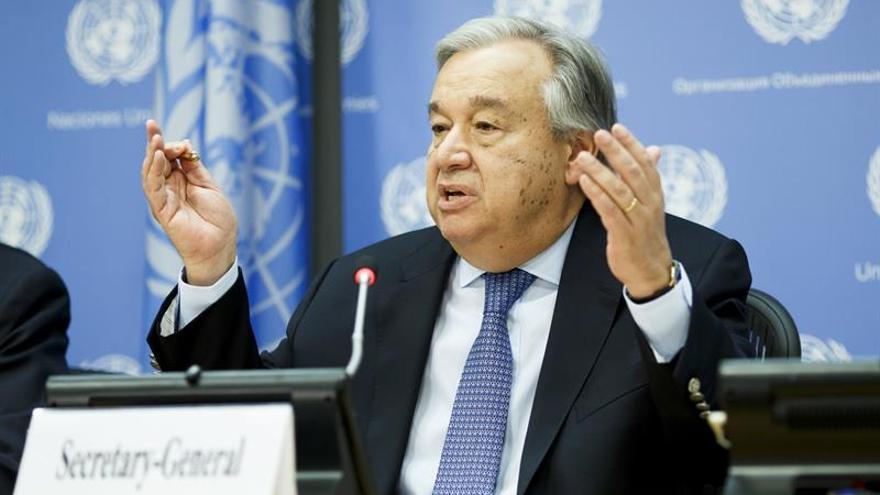Guterres urge a EE.UU. y Rusia a reducir la tensión en Siria