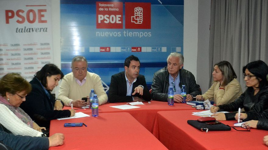 Ejecutiva local del PSOE en Talavera de la Reina