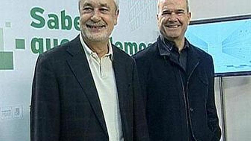 Chaves y Griñán deciden que el congreso extraordinario del PSOE-A sea antes de 2012