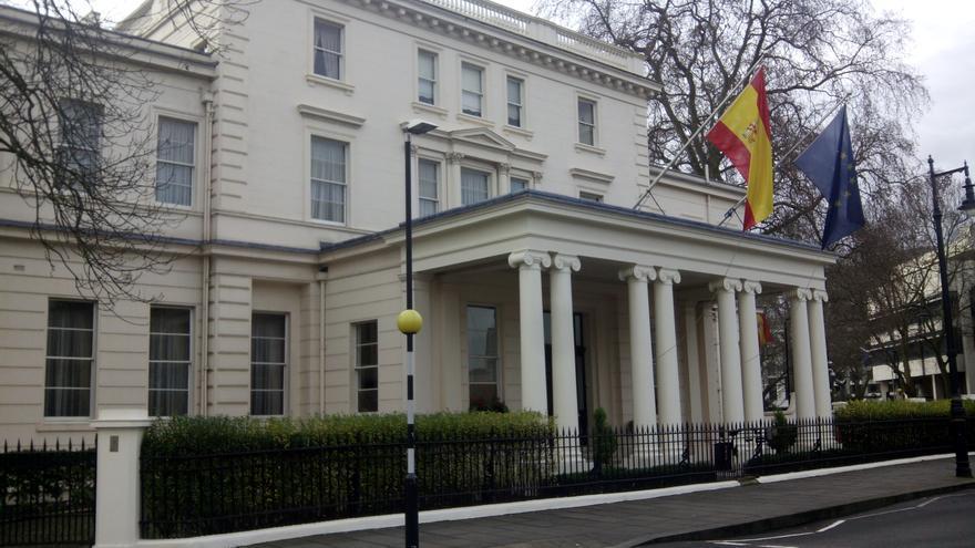 Embajada de España en Londres.