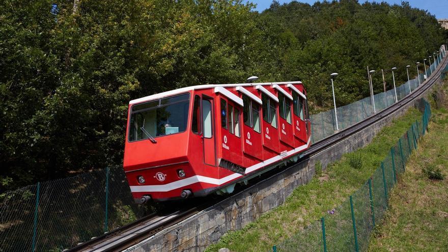 El Funicular de Artxanda en Bilbao retoma este domingo su horario habitual de invierno