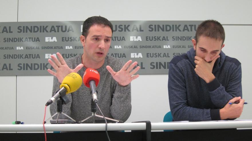 """ELA acusa a UGT y CCOO de pagar las nóminas de liberados sindicales """"directamente de los Presupuestos de Navarra"""""""