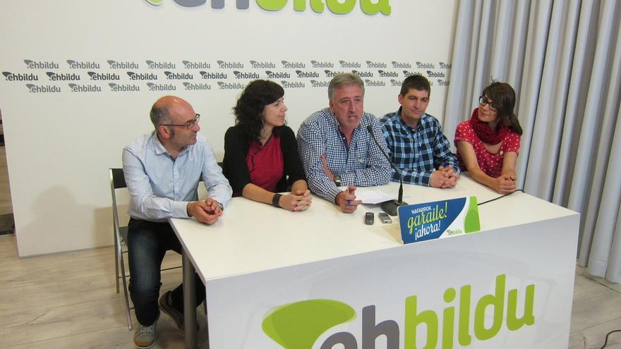 """EH Bildu iniciará negociaciones para acceder a la Alcaldía de Pamplona con un Gobierno """"plural y de izquierdas"""""""