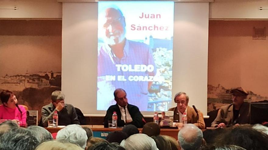 Presentación del libro de Juan Sánchez 'Toledo, en el corazón'