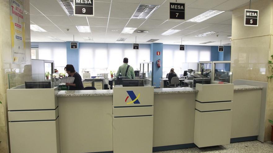 Oficina de la Agencia Tributaria.