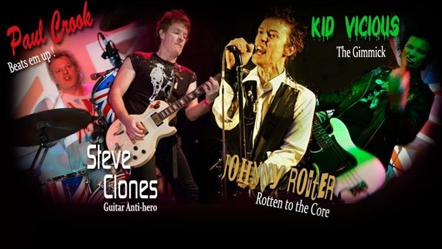 The Sex Pistols Experience actuarán este viernes en Azpeitia, precedidos por los bermeanos The Hammer Killers