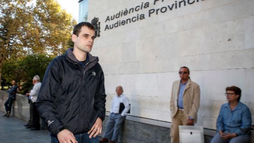 """Rafael Blasco Ciscar """"Rablaci"""", hijo de la exdirectora del IVAM Consuelo Ciscar y el exconseller preso Rafael Blasco."""