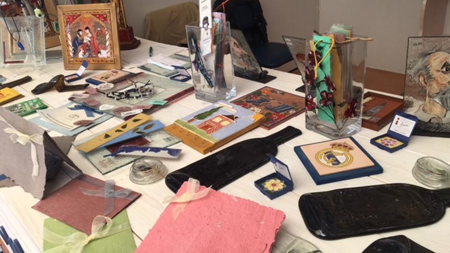 Más productos elaborados por personas con discapacidad. FOTO: Teresa Sánchez