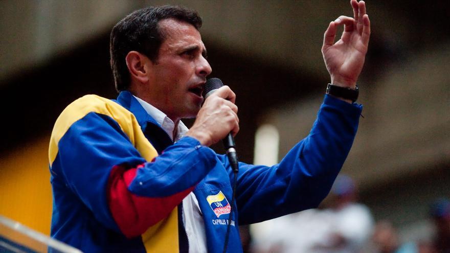 Capriles dice que los venezolanos merecen un debate sobre ideas