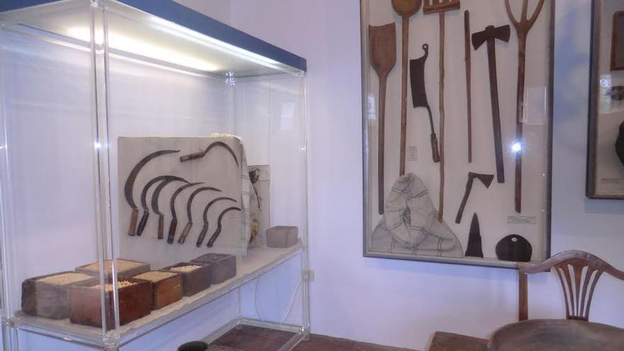 En la imagen, una de las salas del Centro Insular de Etnografía en la Casa del Alférez de El Paso.