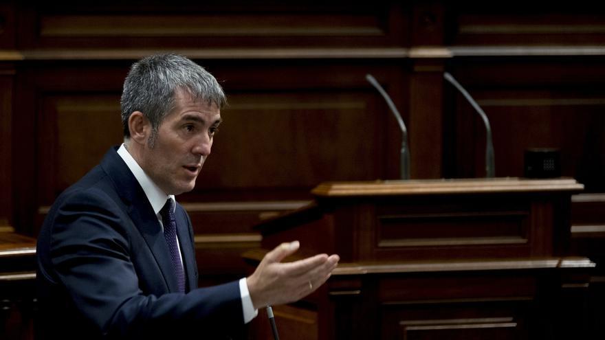 Clavijo evalúa su minoría parlamentaria en el 'Debate sobre el estado de la Nacionalidad'