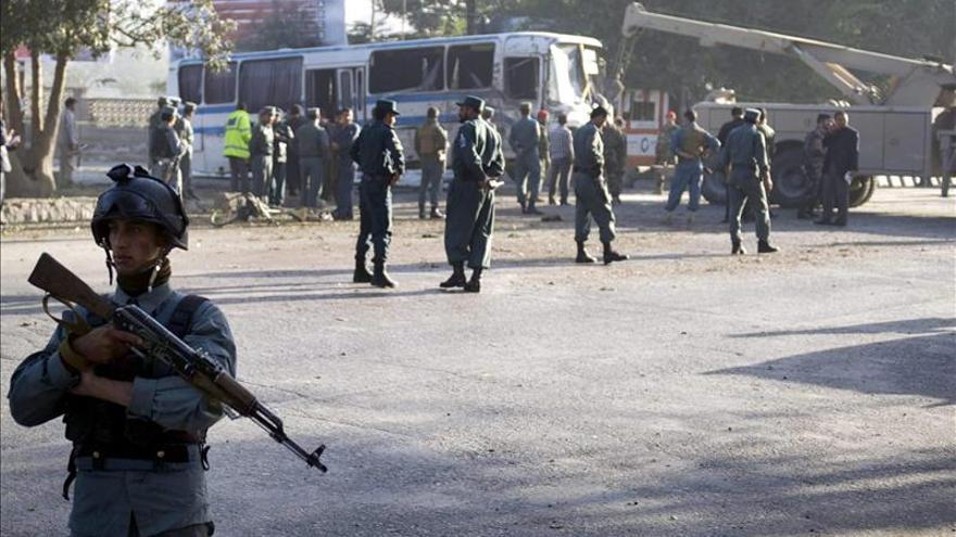 Al menos ocho insurgentes muertos en un ataque contra el Ejército afgano