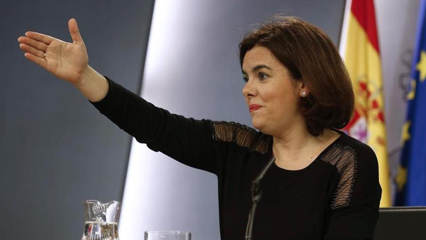 Sáenz de Santamaría: Debilidad de Sánchez ha sido una dificultad para la gran coalición