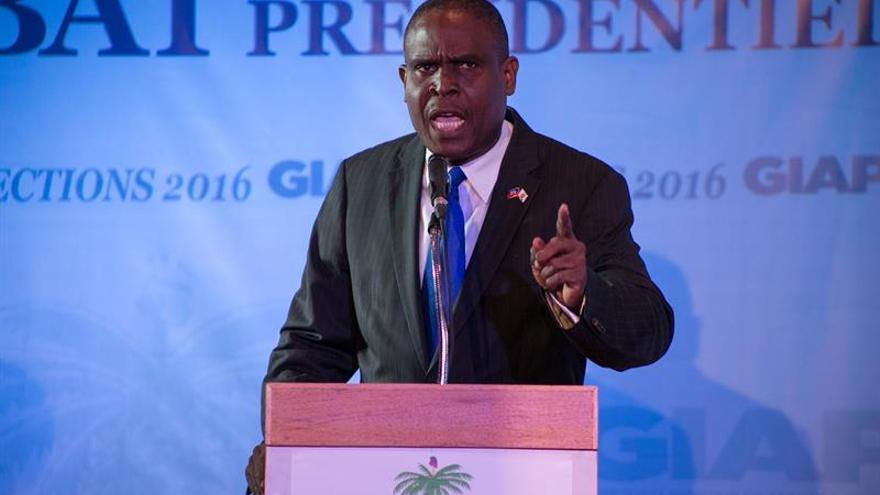 El designado primer ministro de Haití recibe el voto favorable del Senado a su programa