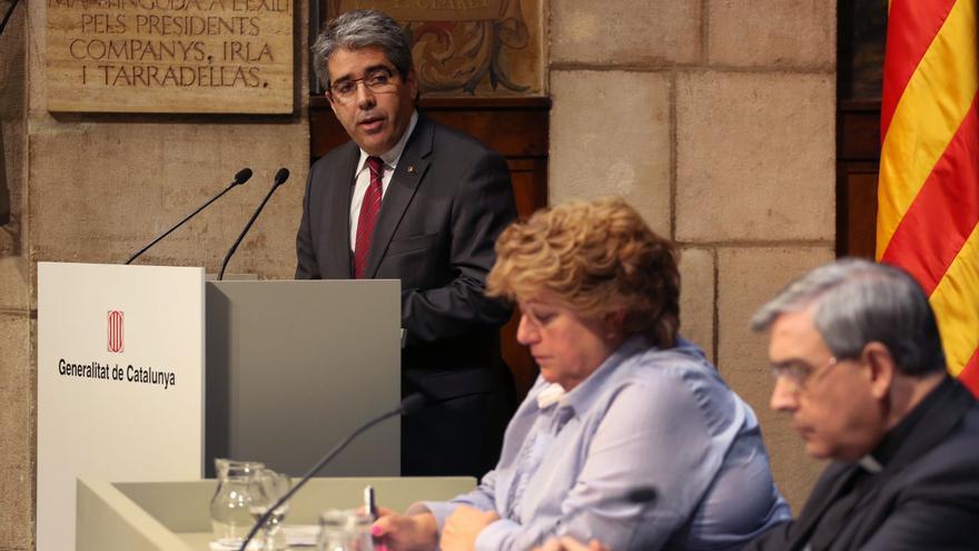"""El portavoz del Govern catalán afea al Gobierno que """"abuse de su poder"""" e impida la consulta en Cataluña"""