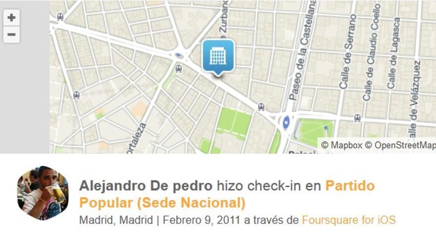 Foursquare De Pedro