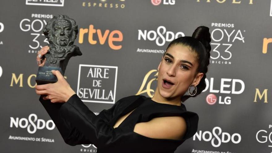 """Carolina Yuste logra el Goya como mejor actriz de reparto por """"Carmen y Lola"""""""