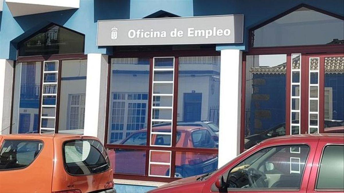 Imagen de archivo de la oficina de Empleo de Los Llanos de Aridane.