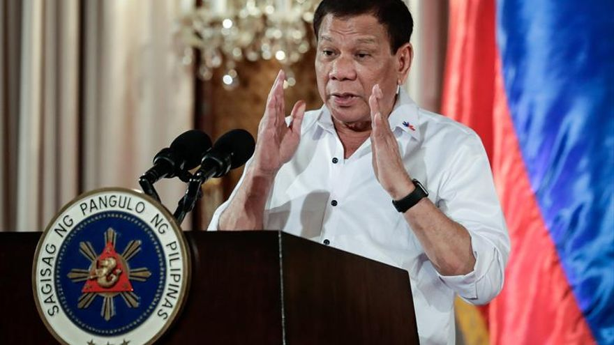 La popularidad de Duterte repunta al 82 % en Filipinas, según un sondeo
