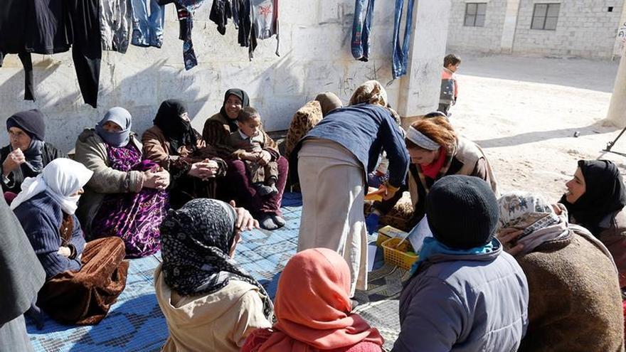 ACNUR dice solo se ha reasentado a 250.000 sirios, la mitad de lo prometido