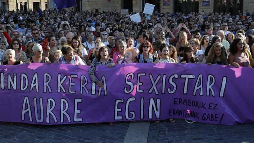 Los seis arrestados por la violación grupal en Bilbao, a disposición judicial