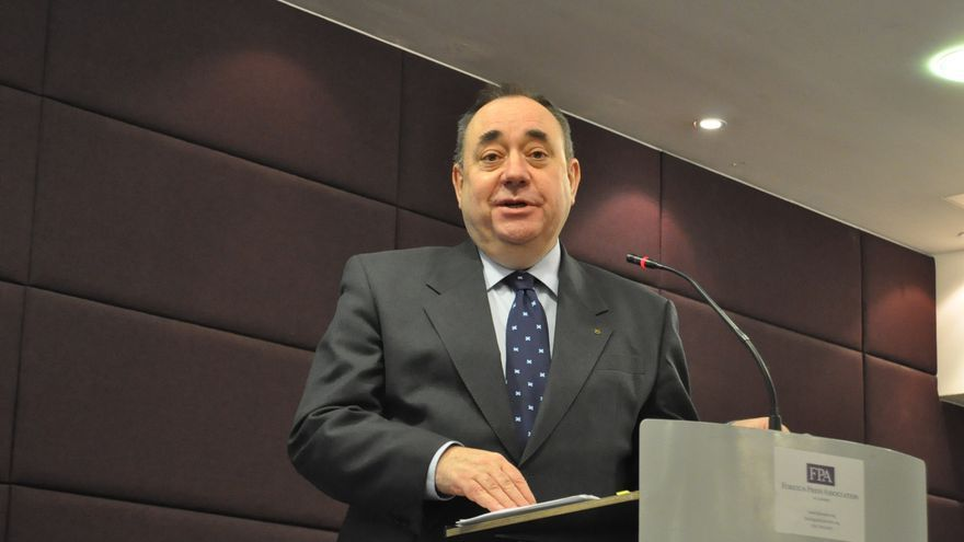 El presidente del gobierno escocés, el nacionalista Alex Salmond.