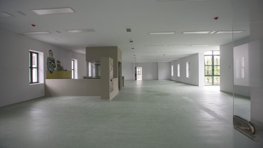 Camargo finaliza las obras del edificio de las antiguas oficinas deCros que albergará la nueva Biblioteca Municipal