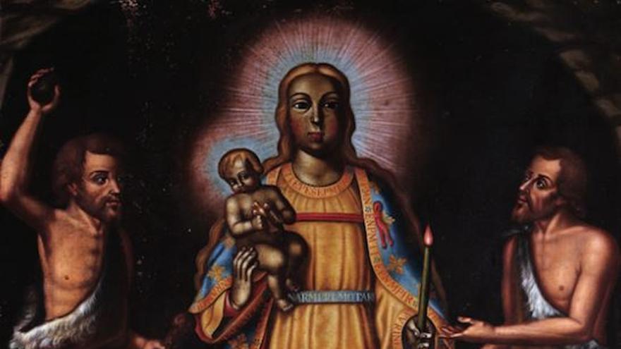 Giovangualberto Giraldin fue patrono de la Virgen de la Candelaria, venerada por los guanches