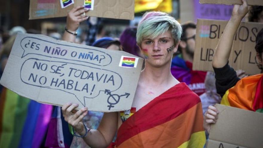Marcha de identidad de género