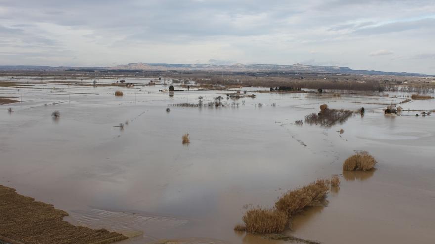 Medio Ambiente sigue evaluando daños de las inundaciones y Navarra pide que los pueblos puedan adelantar reparaciones