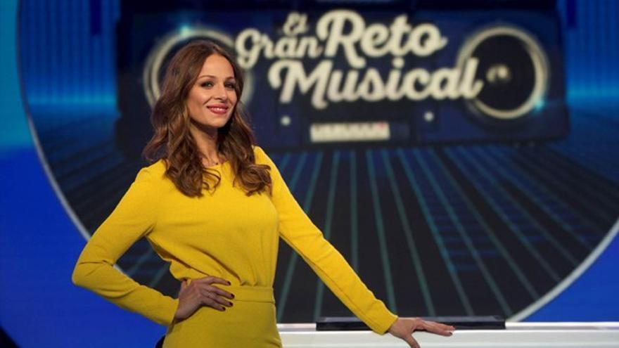 Eva González, a los mandos de 'El gran reto musical' de TVE