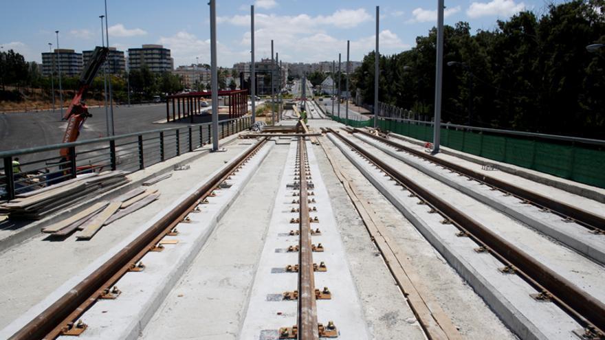Obras en el nudo de La Ardila y el inicio de la Calle Real, en San Fernando.