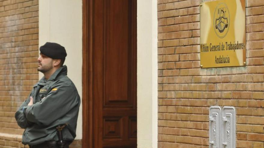 La Guardia Civil registra la sede de UGT de Andalucía por orden de la juez Alaya